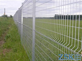Zinc fence sections