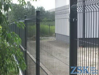 Fence in the color of the customer
