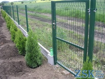 sectional welded wire mesh