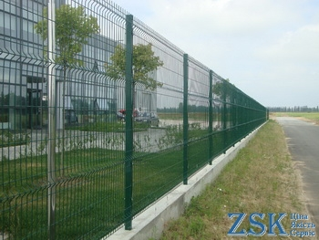 sectional fence of welded mesh price