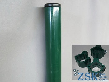 "Fences for sectional fence ""EKO"" with a set of fasteners"