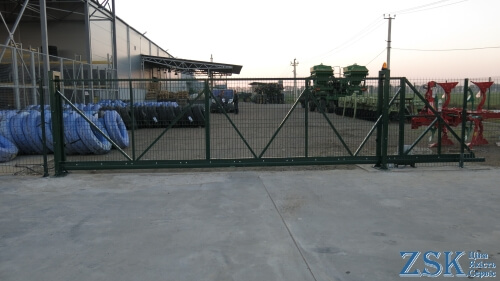 sliding gate 8 meters