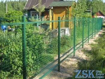 welded mesh with pvc coating