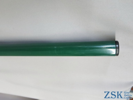 Round post with polymer coating