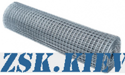 construction mesh - welded galvanized mesh buy a roll of 30m width 1.5m Produced in Ukraine, high quality, made of galvanized wire with different cells. buy galvanized mesh production Ukraine, warehouse Kiev ZSK