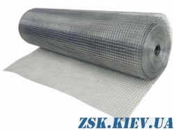 galvanized welded mesh - welded mesh 12x12 roll 30m Produced in Ukraine, high quality, made of galvanized wire with different cells. buy welded mesh production Ukraine, warehouse Kiev ZSK