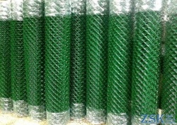 mesh netting in pvc braid - mesh netting pvc price cues ➤ 50x50x2.5mm ➤ High quality, made of galvanized wire with mesh 35x35 and 50x50mm. Custom order 50x50x3. ➤ mesh pvc chain-link production Ukraine, warehouse Kiev ZSK