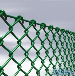 fences made of mesh netting - mesh netting with pvc coating cues ➤ 35x35x2.5mm ➤ High quality, made of galvanized wire with mesh 35x35 and 50x50mm. Custom order 50x50x3. ➤ mesh pvc chain-link production Ukraine, warehouse Kiev ZSK