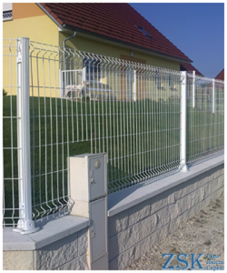 Fence classic white