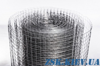 metal mesh 25x25 mm - welded galvanized mesh 25x25 price roll 50m Produced in Ukraine, high quality, made of galvanized wire with different cells. welded galvanized mesh 25x25 production Ukraine, warehouse Kiev ZSK
